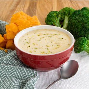 Farmhouse Cheddar and Broccoli Soup
