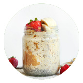 Fresh Steps Fruit and Chia Overnight Treat