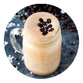Maple Mocha Nut Wake-up Protein Shake